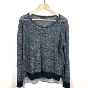 Rag & Bone Sweater Medium Blue White